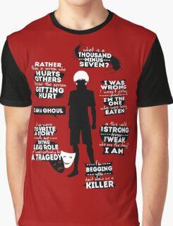 Kaneki Ken Quotes Graphic T-Shirt