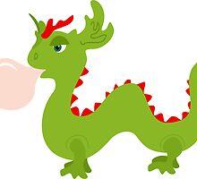 Dragon Bubblegum by XOOXOO