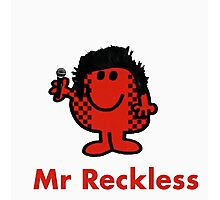 Mr Reckless Photographic Print
