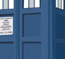 TARDIS - Doctor Who Time Machine Sticker