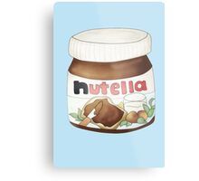 Nutella Jar Metal Print