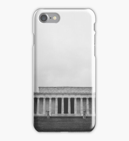 solo flight at lincoln memorial iPhone Case/Skin
