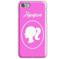 Girls Generation (SNSD) Hyoyeon Barbie Design iPhone Case/Skin