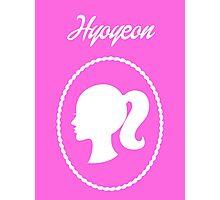 Girls Generation (SNSD) Hyoyeon Barbie Design Photographic Print