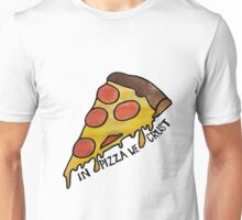 """In Pizza We Crust"" Watercolor Unisex T-Shirt"