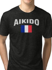 Aikido France Tri-blend T-Shirt