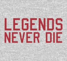 Legends Never Die One Piece - Long Sleeve