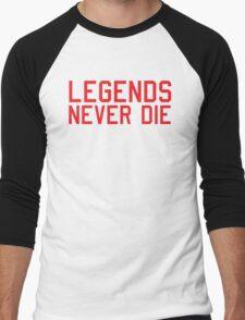 Legends Never Die Men's Baseball ¾ T-Shirt