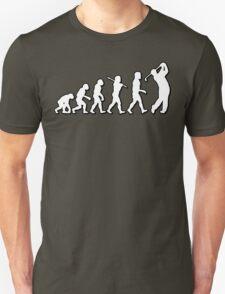 Evolution Golf Driver by Stencil8 T-Shirt