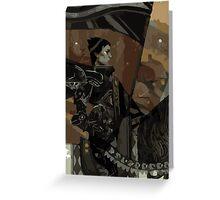 Cassandra Tarot Card 1 Greeting Card