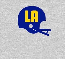 Los Angeles Blue & Yellow Football Team - Blue Helmet Unisex T-Shirt