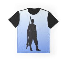 Rey - Standing Silhouette  Graphic T-Shirt