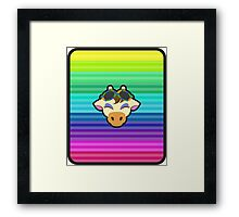 GRACIE ANIMAL CROSSING Framed Print