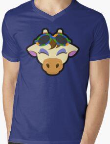 GRACIE ANIMAL CROSSING Mens V-Neck T-Shirt