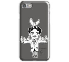 Tiny Tesla with Birb Friends iPhone Case/Skin