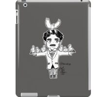 Tiny Tesla with Birb Friends iPad Case/Skin