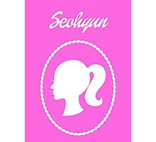 Girls Generation (SNSD) Seohyun Barbie Design Photographic Print