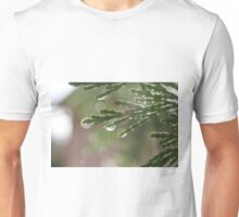 See the Rainbow On One of Of The Needles Unisex T-Shirt