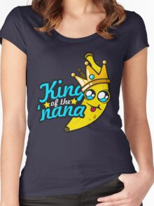 King of the 'nana Women's Fitted Scoop T-Shirt