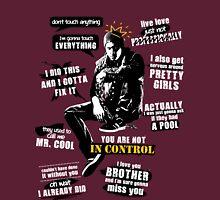 Delsin Rowe Quotes Unisex T-Shirt
