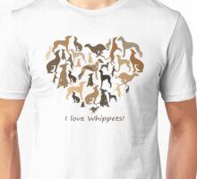 whippets Unisex T-Shirt