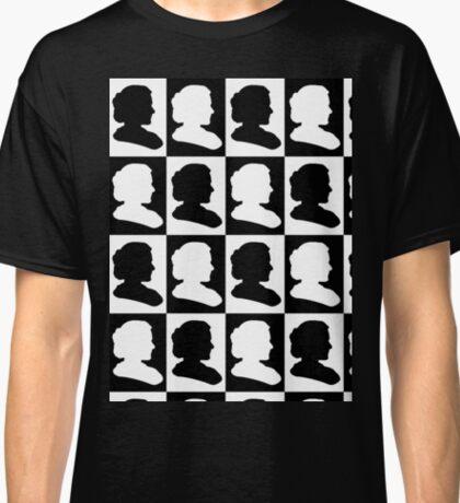 Marie Curie Silhouette Pop Art Classic T-Shirt