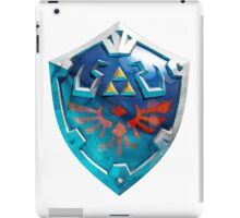 link's shield iPad Case/Skin