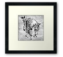 Melt down Framed Print