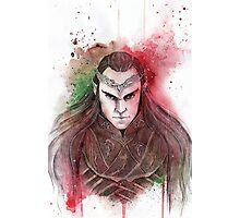Lord Elrond Photographic Print