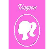 Girls Generation (SNSD) Taeyeon Barbie Design Photographic Print