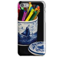 Delft Blauw and Chroma iPhone Case/Skin