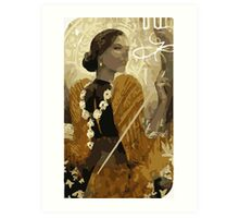 Josephine Tarot Card Art Print