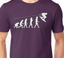 Evolution Wakeboarding by Stencil8 Unisex T-Shirt
