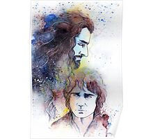 Thorin and Bilbo Poster