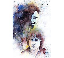Thorin and Bilbo Photographic Print