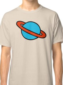 Space Planets Pattern Classic T-Shirt