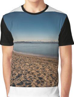Winter On Alki  Graphic T-Shirt