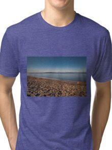 Winter On Alki  Tri-blend T-Shirt