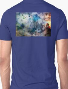 Can't Find My Way Home (image, poem & music) Unisex T-Shirt