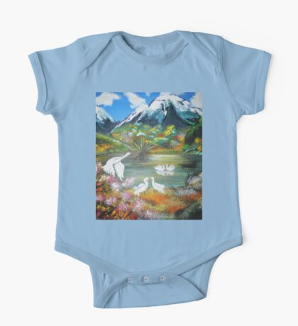 Lake view One Piece - Short Sleeve