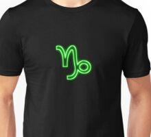 Bright Neon Green - Capricorn the Goat Star Sign Unisex T-Shirt