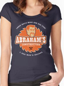 Abraham's Construction Women's Fitted Scoop T-Shirt