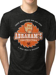 Abraham's Construction Tri-blend T-Shirt