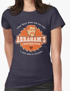 Abraham's Construction Womens Fitted T-Shirt