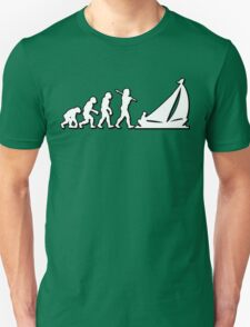 Evolution Sailing 01 by Stencil8 Unisex T-Shirt