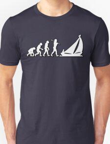 Evolution Sailing 01 by Stencil8 Unisex T-Shirt