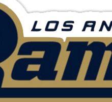 New LA Rams Logo Sticker