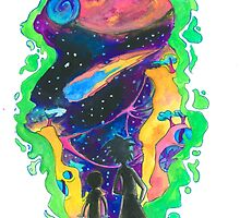The Universe is a Crazy Chaotic place Morty by Jeh-Leh-Loh