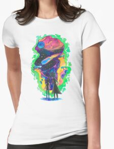 The Universe is a Crazy Chaotic place Morty Womens Fitted T-Shirt
