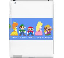 Team mario iPad Case/Skin